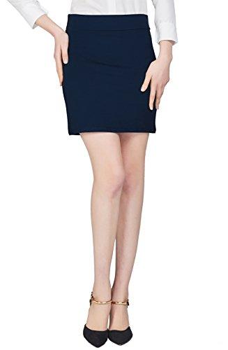 urban goco jupe crayon ceinture lastique courte jupe droite bodycon mini jupe pour femmes. Black Bedroom Furniture Sets. Home Design Ideas